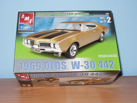 1969 Oldsmobile W-30 442 1/25 by AMT/ERTL