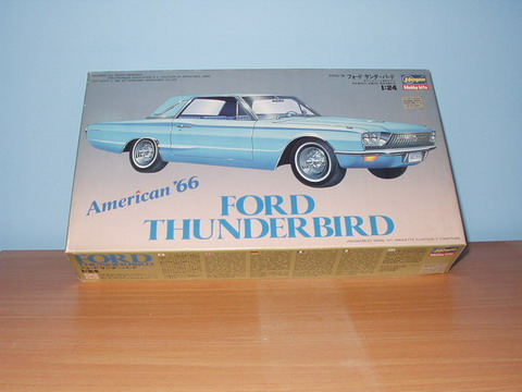 1966 Ford Thunderbird 1/24 by Hasegawa