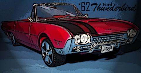 1962 Ford Thunderbird 1/25 by AMT/ERTL